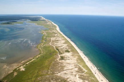 Brewster Cape Cod vacation rental - National Seashore beaches close by.