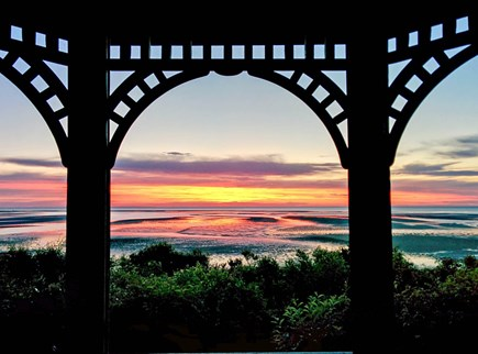 Brewster Cape Cod vacation rental - Sunset from the Gazebo