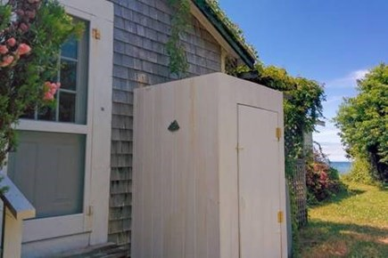 Brewster Cape Cod vacation rental - Outdoor shower (with hot water)