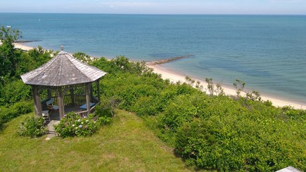 Brewster Cape Cod vacation rental - Enjoy a picnic in the gazebo with breathtaking views.