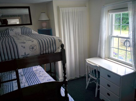 Brewster Cape Cod vacation rental - Small bunkbed room.  Sturdy no shake bed
