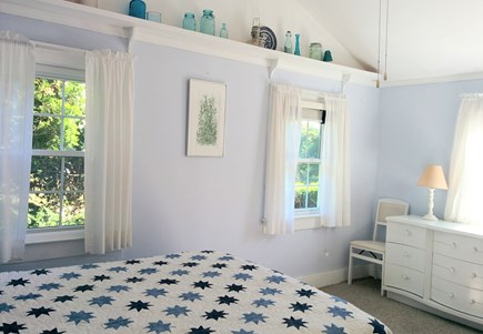 Brewster Cape Cod vacation rental - Large master bedroom with cool gel foam mattress.