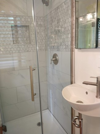 Brewster Cape Cod vacation rental - Small newly renovated bathroom.