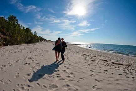Brewster Cape Cod vacation rental - Fantastic private beach