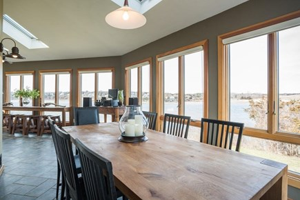 Orleans, MA Cape Cod vacation rental - Seating capabilities for 18 in the main level dining area