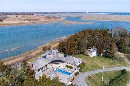 Orleans, MA Cape Cod vacation rental - Beautiful, private Orleans estate with commanding water views