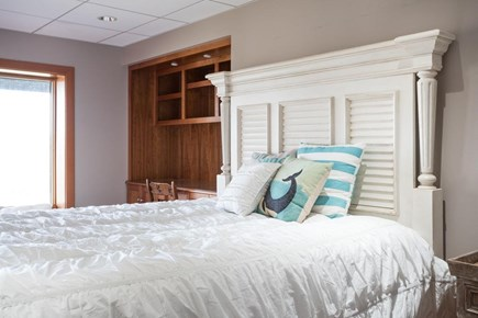 Orleans, MA Cape Cod vacation rental - Lower level queen bedroom. 2nd bedroom on this level has 2 queens