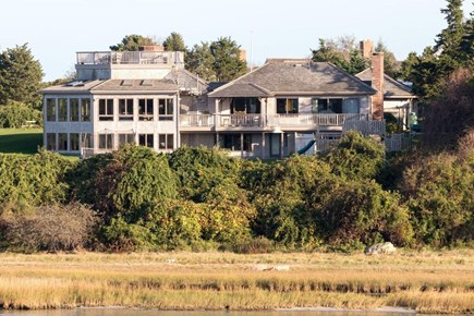 Orleans, MA Cape Cod vacation rental - View of the estate from Fort Hill