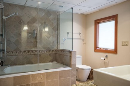Orleans, MA Cape Cod vacation rental - One of 2 lower level bathrooms.