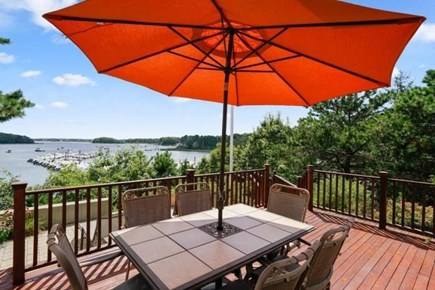 Popponesset, Mashpee Cape Cod vacation rental - Deck and view