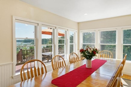 Mashpee Cape Cod vacation rental - Dining area