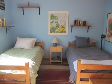 Wellfleet Cape Cod vacation rental - Twin beds on the ground floor.