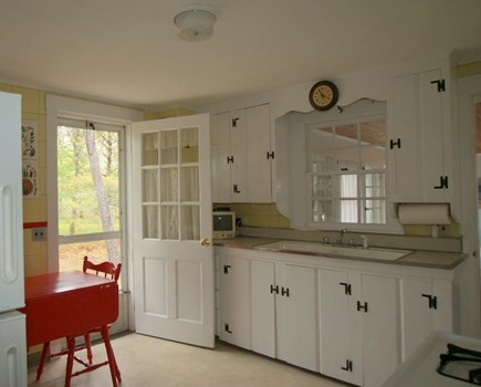 West Harwich Cape Cod vacation rental - Sunny kitchen