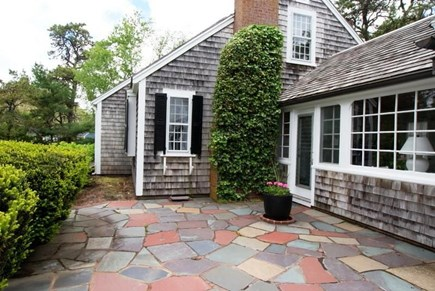 West Harwich Cape Cod vacation rental - Patio, has gas grille & outdoor furniture in season