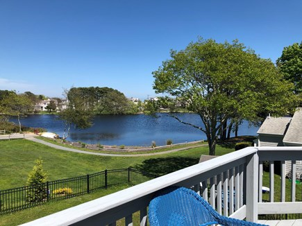 Mashpee, Popponesset Cape Cod vacation rental - View of Deans Pond from Upper and Lower Decks