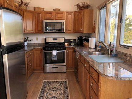 Mashpee, Popponesset Cape Cod vacation rental - Fully equipped kitchen with granite countertops