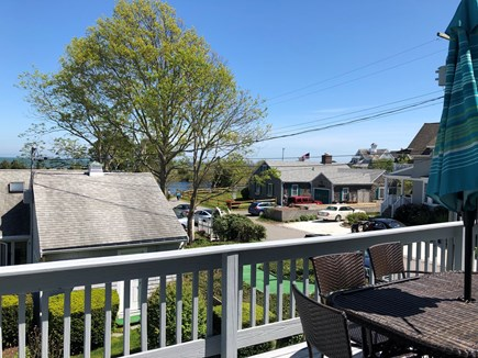 Mashpee, Popponesset Cape Cod vacation rental - Relax while dining on the 2nd floor deck overlooking Deans Pond