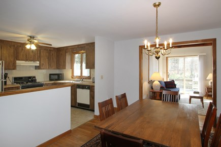 Dennis Cape Cod vacation rental - Open kitchen and dining area