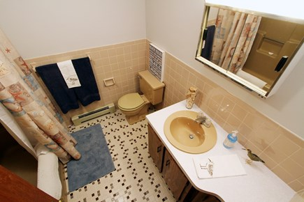 Dennis Cape Cod vacation rental - Bathroom off hallway