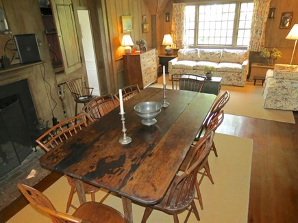 Chatham Cape Cod vacation rental - Dining room seats eight