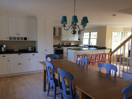 Pocasset Pocasset vacation rental - Remodeled gourmet kitchen, open on dining and sitting areas