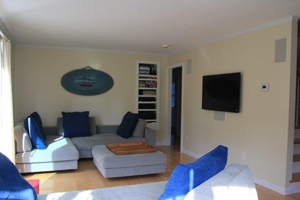 Pocasset Pocasset vacation rental - Sitting area with walkout to patio