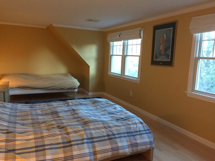 Pocasset Pocasset vacation rental - Second bedroom upstairs with a twin and a double bed