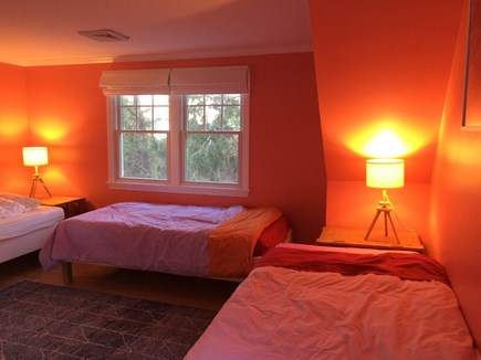 Pocasset Pocasset vacation rental - One of the 3 bedrooms upstairs with 3 twin beds