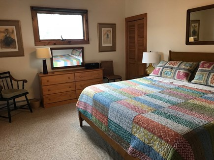 Wellfleet Cape Cod vacation rental - Bedroom #1: Master Bedroom with King bed.