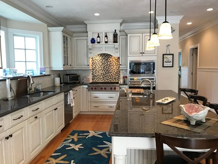New Seabury, Mashpee New Seabury vacation rental - Beautiful Designer Kitchen with granite and stainless steel.