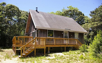 Eastham Cape Cod vacation rental - From the driveway