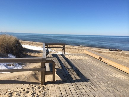 Brewster Cape Cod vacation rental - Just a short walk to the beach with your morning coffee