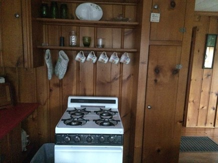 Brewster Cape Cod vacation rental - Quaint cottage kitchen has everything you'll need