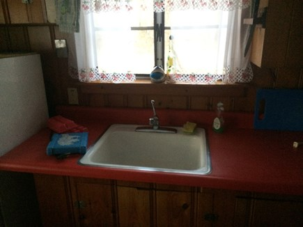 Brewster Cape Cod vacation rental - Small but comfortable kitchen, no to much to clean