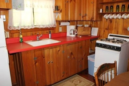 Brewster Cape Cod vacation rental - Knotty pine everywhere get the cape experience