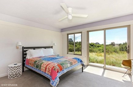 Truro Cape Cod vacation rental - One of two bedrooms with a queen bed on entry level