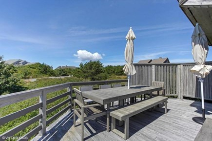 Truro Cape Cod vacation rental - Dining and sunbathing