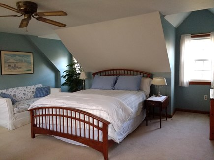 Marstons Mills Marstons Mills vacation rental - Master bedroom upstairs with queen bed and half bath