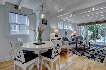 Provincetown Cape Cod vacation rental - Enter The Cottage and Look Toward the Private Back Garden