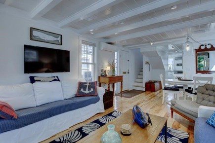 Provincetown Cape Cod vacation rental - The Living Area, Full Cable and High Speed Wireless