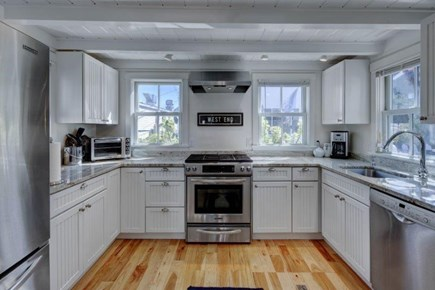Provincetown Cape Cod vacation rental - The Kitchen Is Big Bright and Contains Quality Appliances