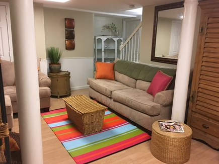 Cotuit, Mashpee Cotuit vacation rental - Relax in comfy lower level basement with private bath and bedroom