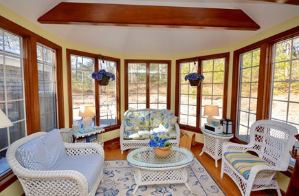 Orleans Cape Cod vacation rental - Beautiful sunroom off the open kitchen and dining room