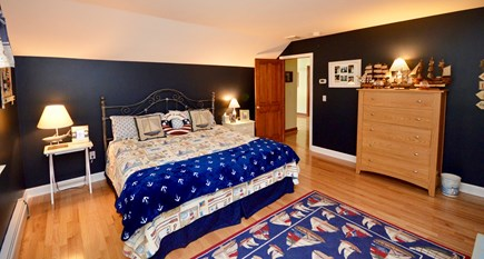 Orleans Cape Cod vacation rental - Upper level bedroom with king bed