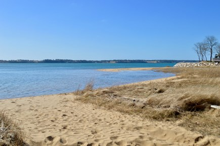 Orleans Cape Cod vacation rental - Private beach just 5 minute walk. Great for swimming or kayaking!
