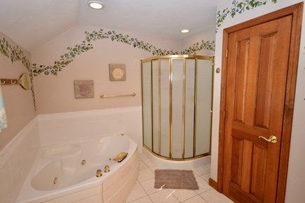 Orleans Cape Cod vacation rental - Master level en suite with tub and stand up shower
