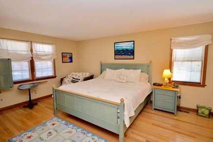 Orleans Cape Cod vacation rental - Spacious main level master with king bed and TV