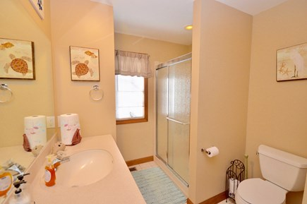 Orleans Cape Cod vacation rental - Main level full bath with tub/ shower combo