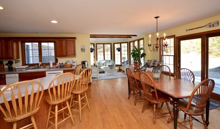 Orleans Cape Cod vacation rental - Spacious, fully equipped kitchen and dining area