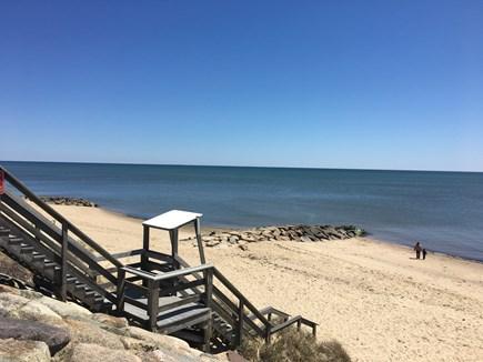 Dennisport Cape Cod vacation rental - Beautiful beach day! Lifeguards through summer months
